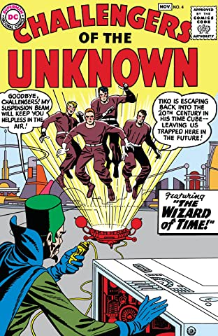 Challengers of the Unknown (1958-1978) No.4