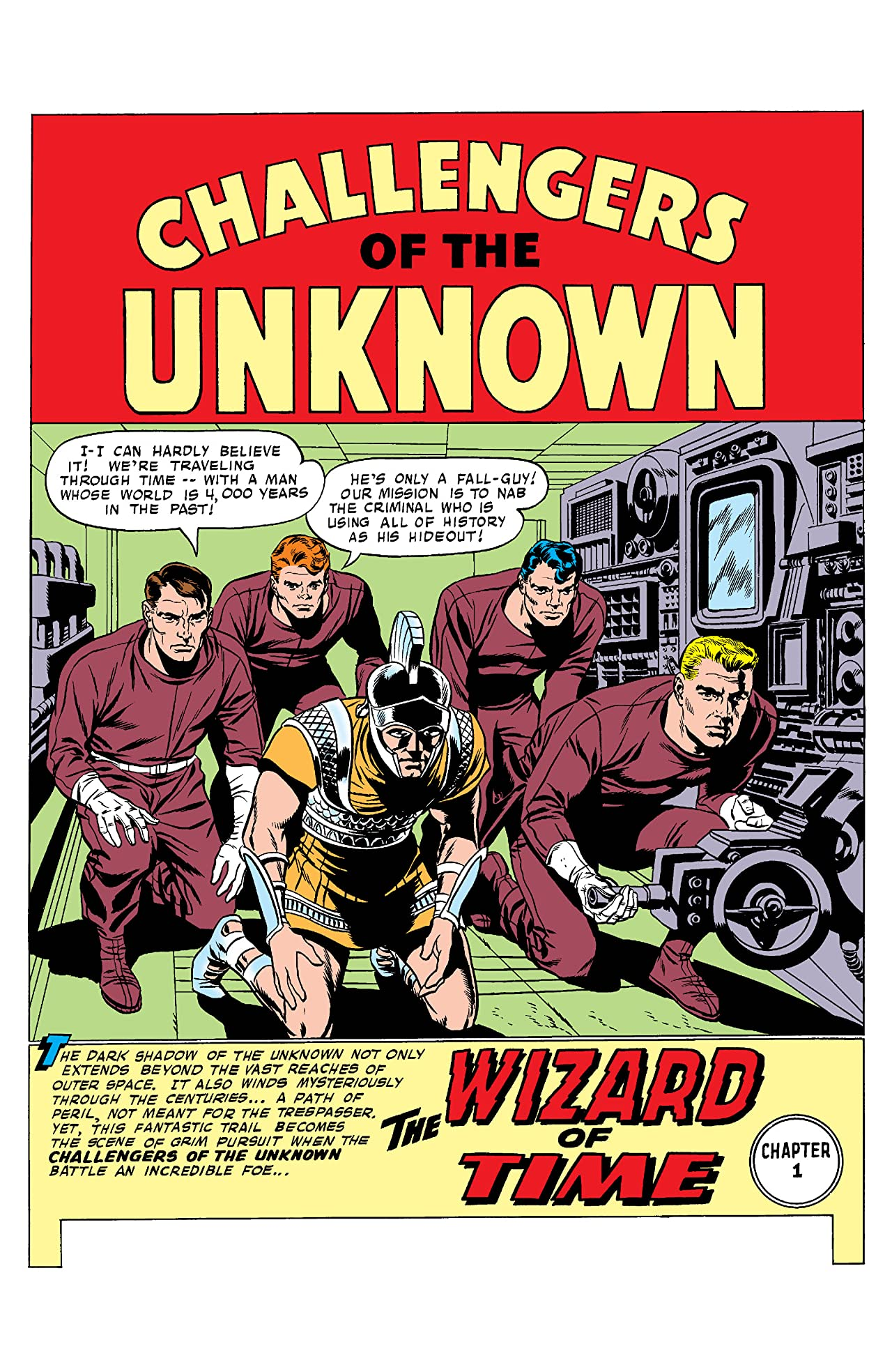 Challengers of the Unknown (1958-1978) #4