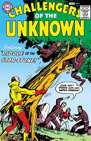 Challengers of the Unknown (1958-1978) #5