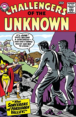 Challengers of the Unknown (1958-1978) No.6