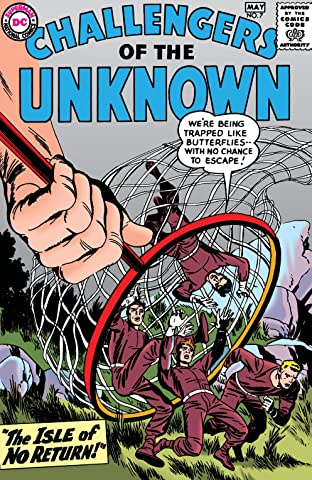 Challengers of the Unknown (1958-1978) No.7