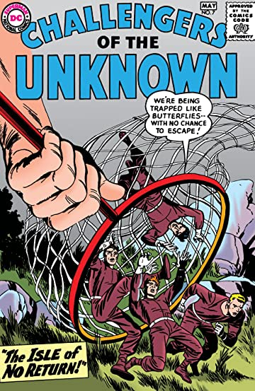 Challengers of the Unknown (1958-1978) #7
