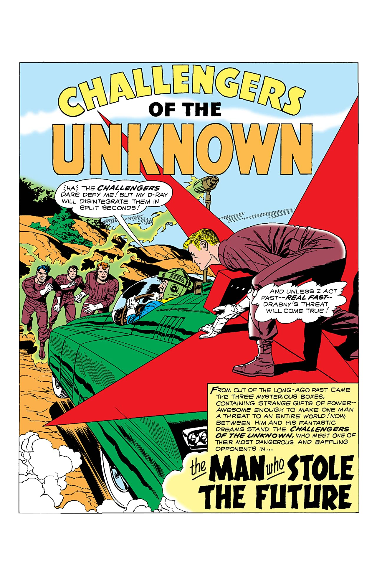 Challengers of the Unknown (1958-1978) #8