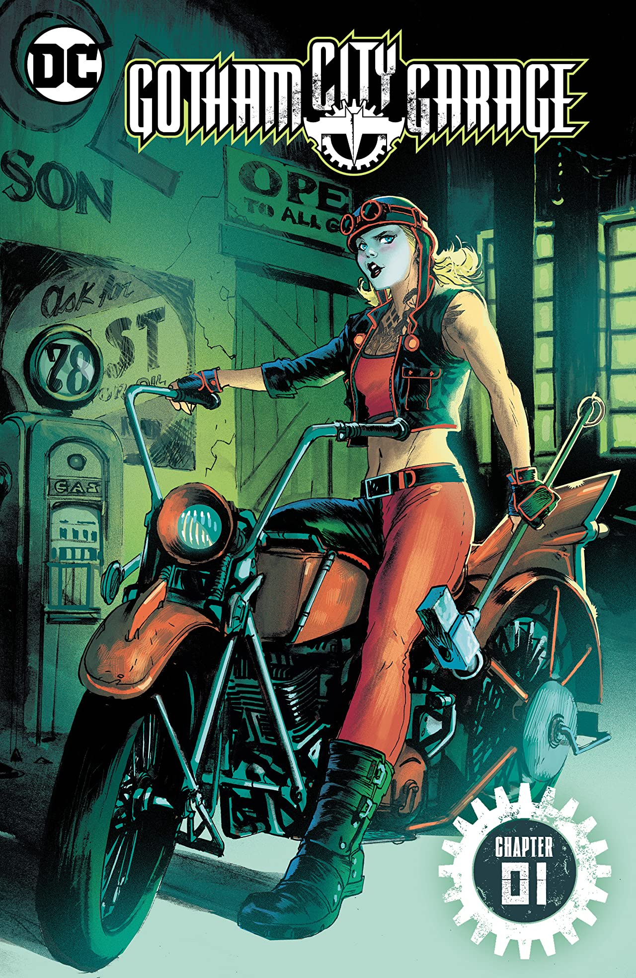 Gotham City Garage (2017-) #1