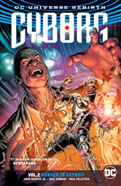Cyborg (2016-2018) Tome 2: Danger in Detroit