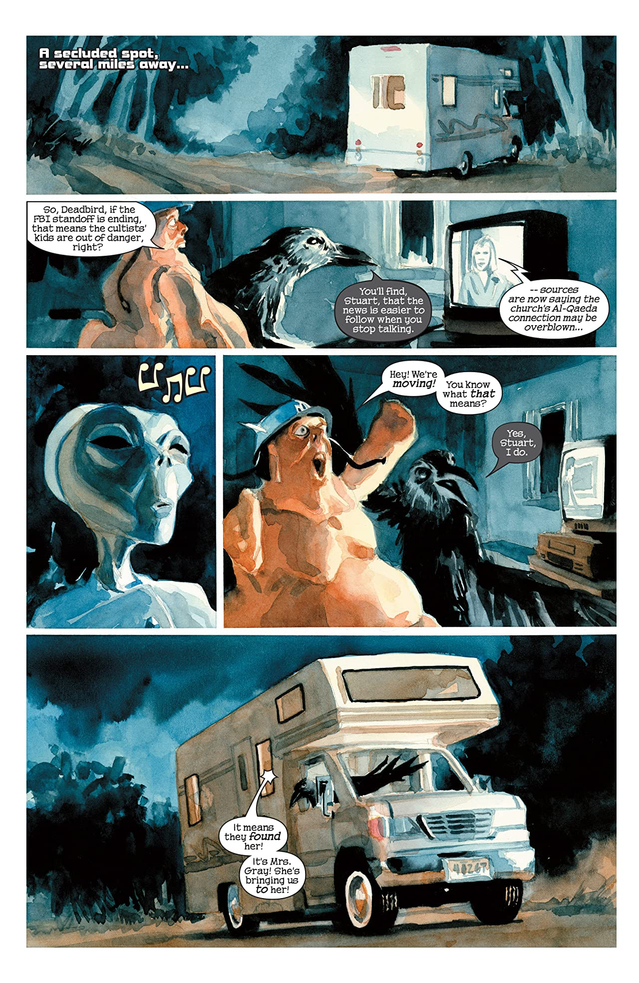 Hulk: Nightmerica (2003-2004) #5 (of 6)