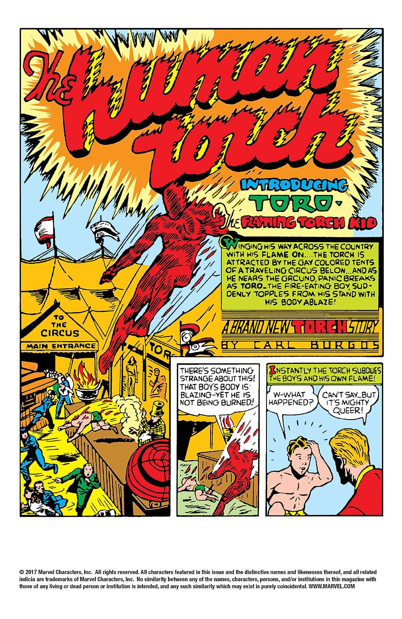 Human Torch (1940-1954) #2
