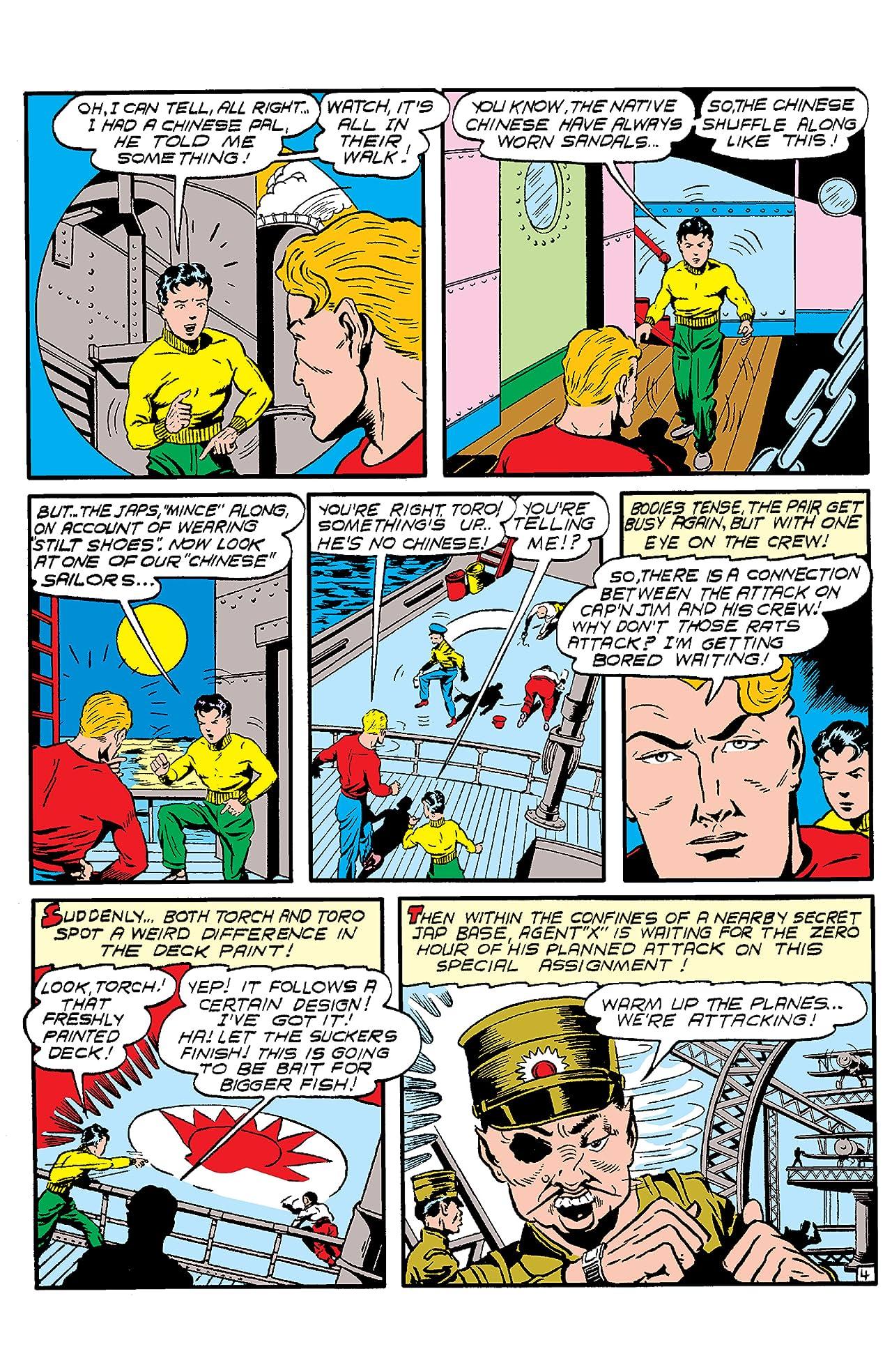 Human Torch (1940-1954) #7