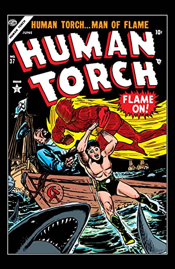 Human Torch (1940-1954) #37