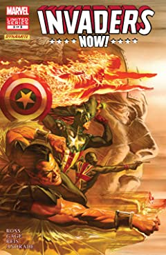 Invaders Now! (2010-2011) #2 (of 5)
