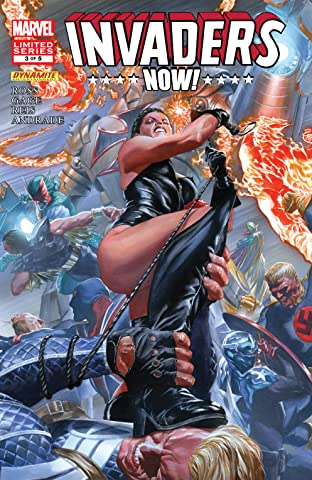 Invaders Now! (2010-2011) #3 (of 5)