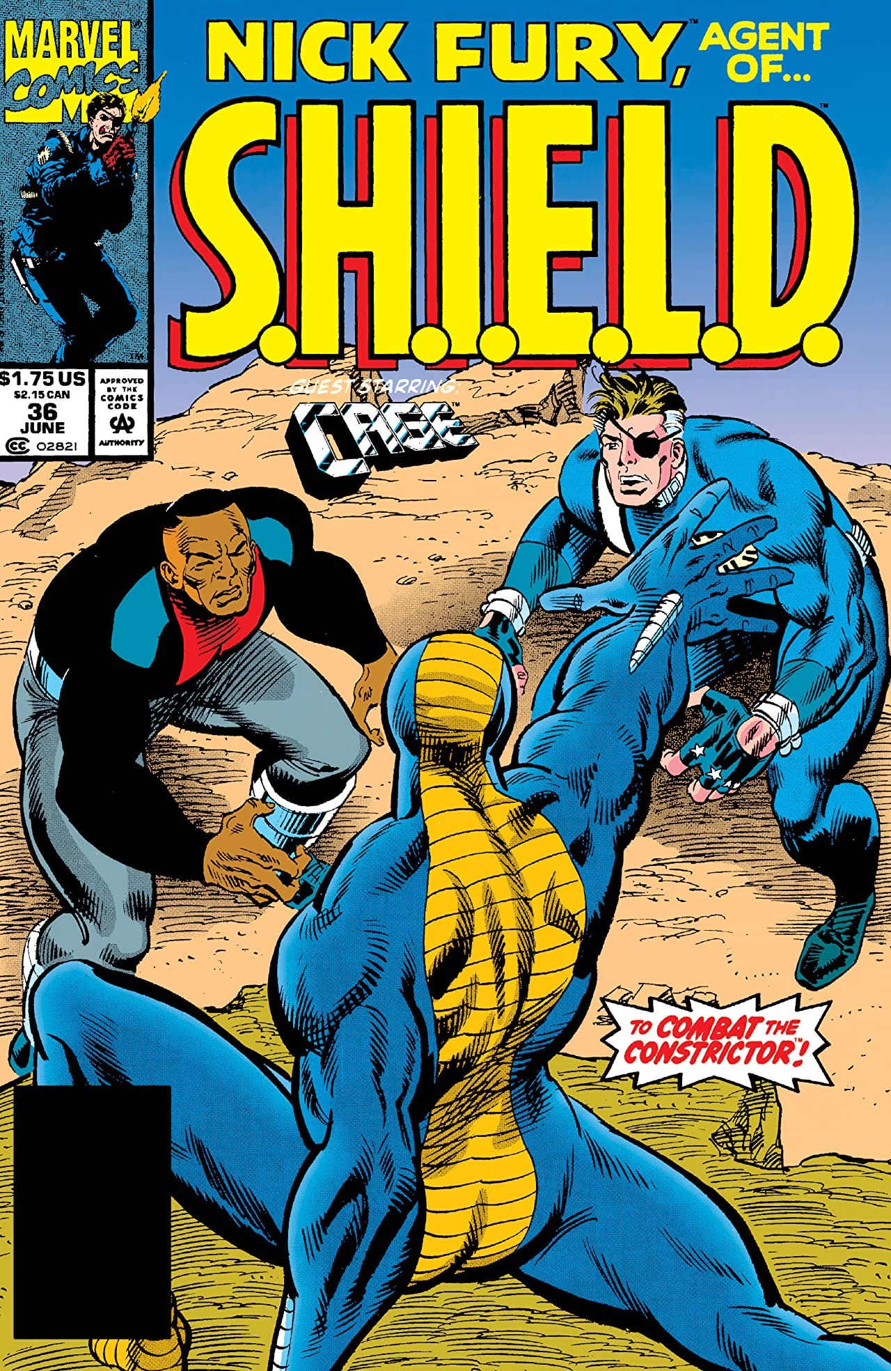 Nick Fury, Agent of S.H.I.E.L.D. (1989-1992) #36