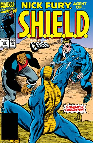 Nick Fury, Agent of S.H.I.E.L.D. (1989-1992) #36