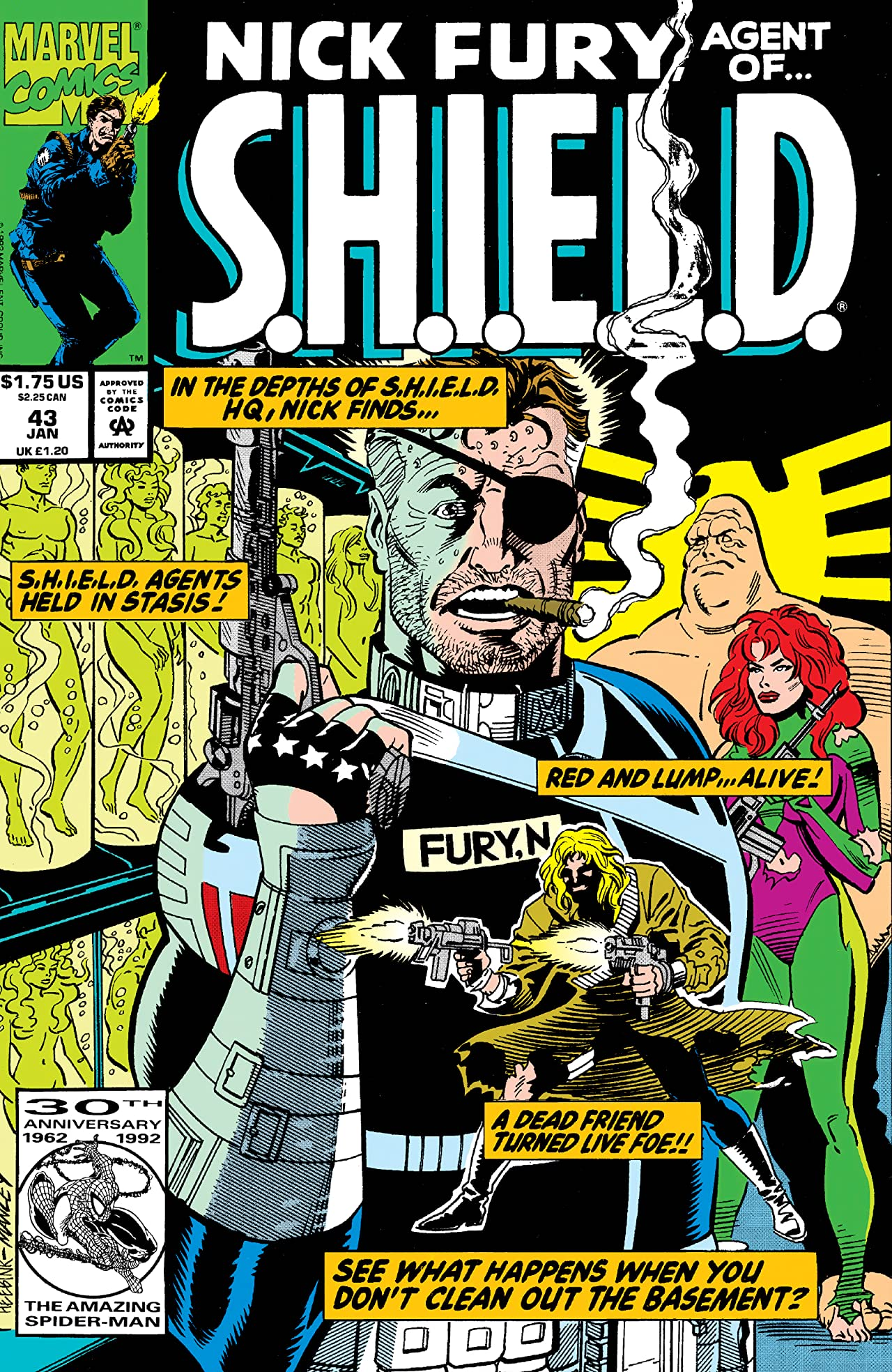 Nick Fury, Agent of S.H.I.E.L.D. (1989-1992) #43