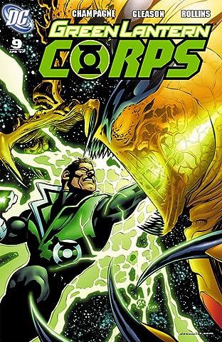 Green Lantern Corps (2006-2011) #9