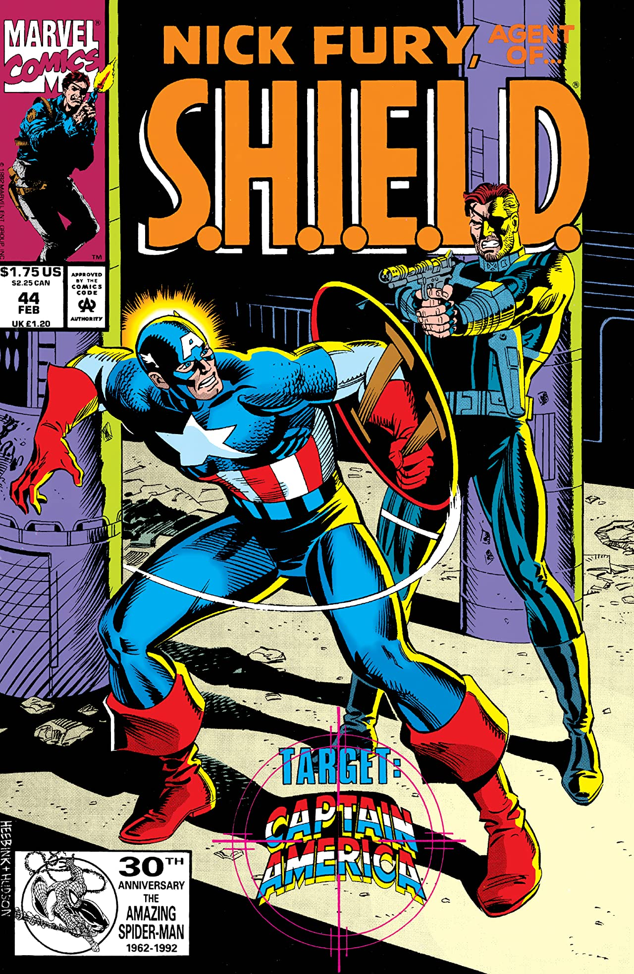 Nick Fury, Agent of S.H.I.E.L.D. (1989-1992) #44