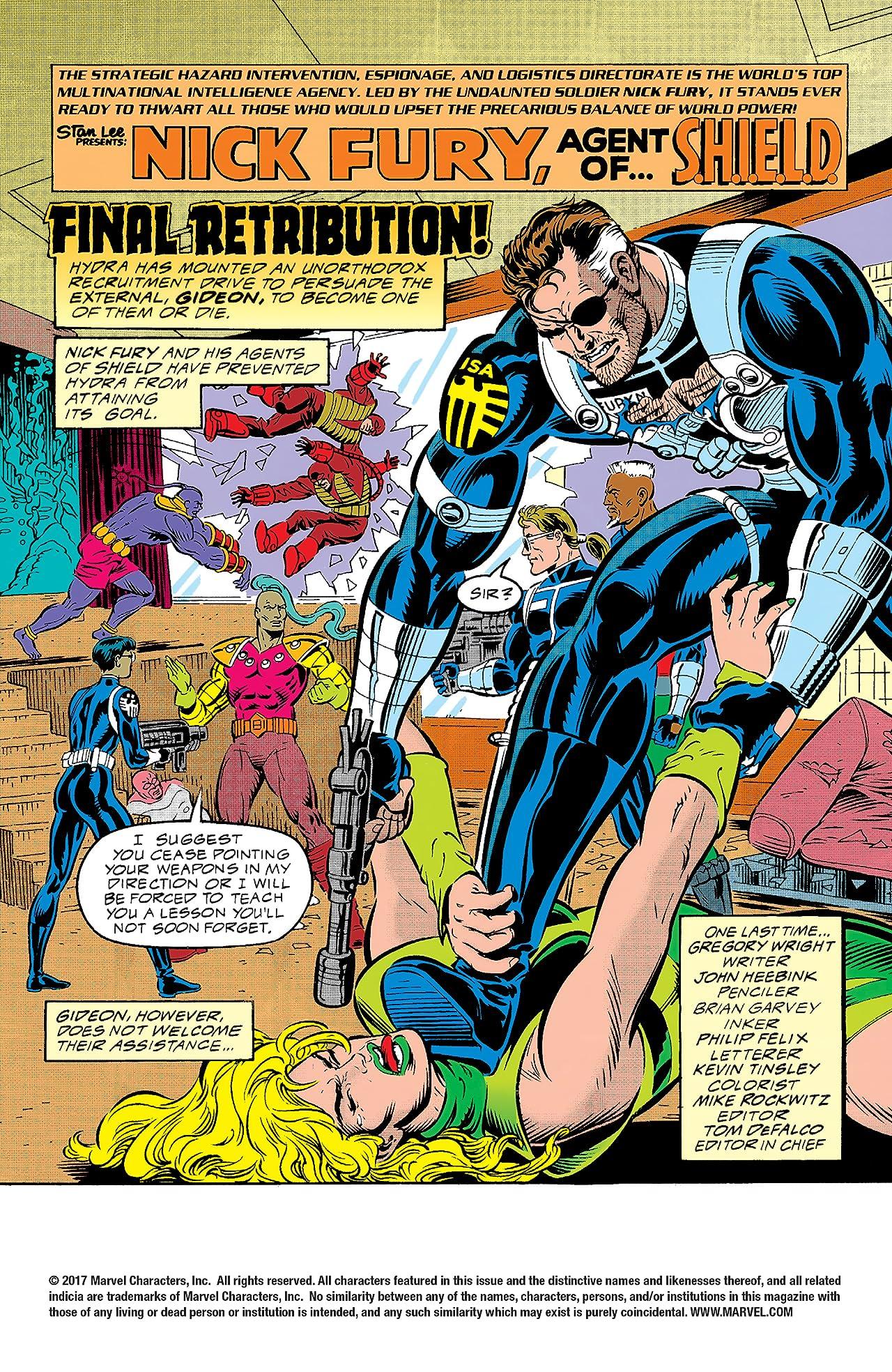 Nick Fury, Agent of S.H.I.E.L.D. (1989-1992) #47