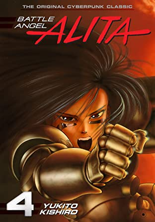 Battle Angel Alita Tome 4