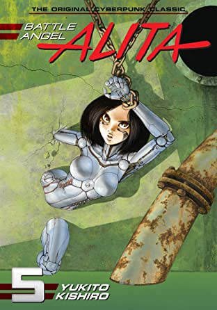 Battle Angel Alita Tome 5