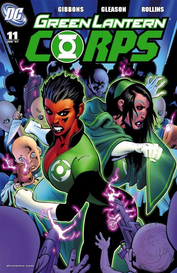 Green Lantern Corps (2006-2011) #11