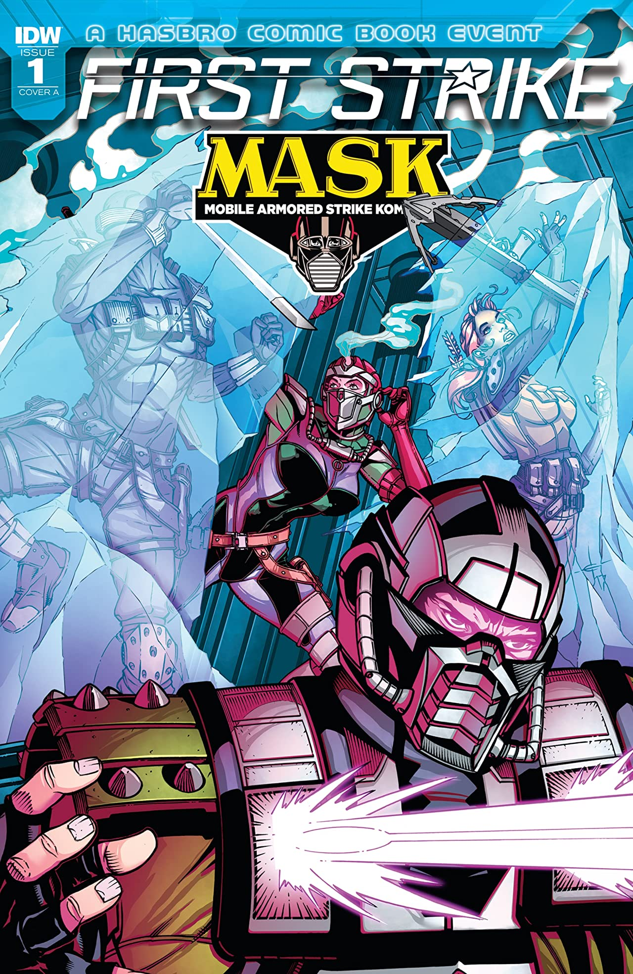 M.A.S.K.: First Strike #1