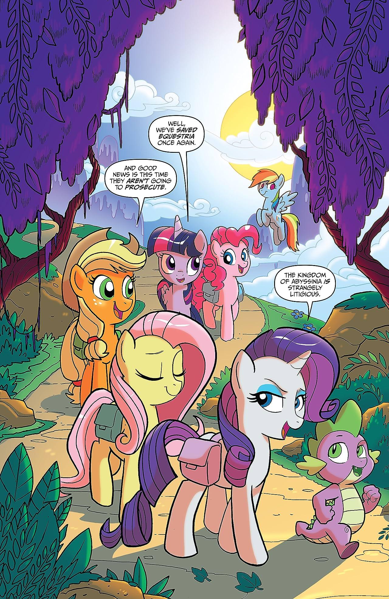 My Little Pony: Treasury Edition: Ponies of Darkwater