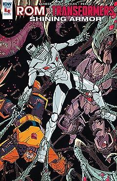 Rom vs. Transformers: Shining Armor #4