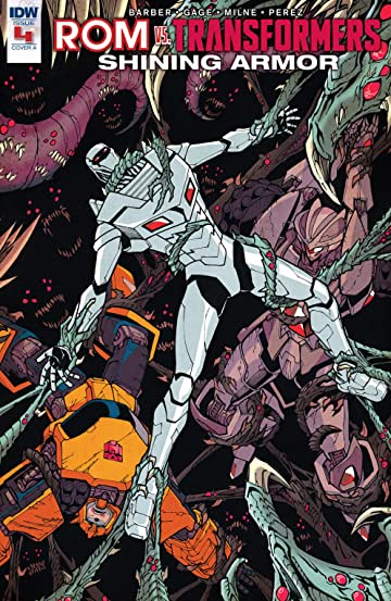 Rom vs. Transformers: Shining Armor #4