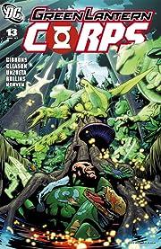 Green Lantern Corps (2006-2011) #13