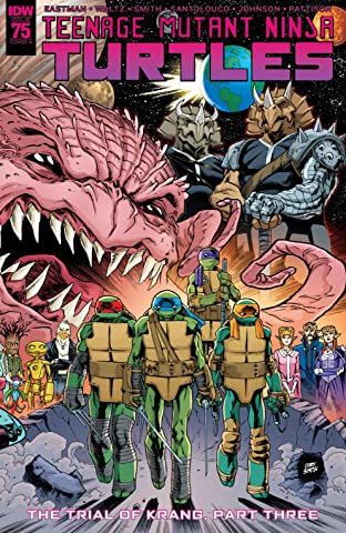 Teenage Mutant Ninja Turtles #75
