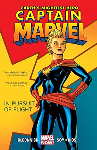 Captain Marvel Tome 1: In Pursuit of Flight