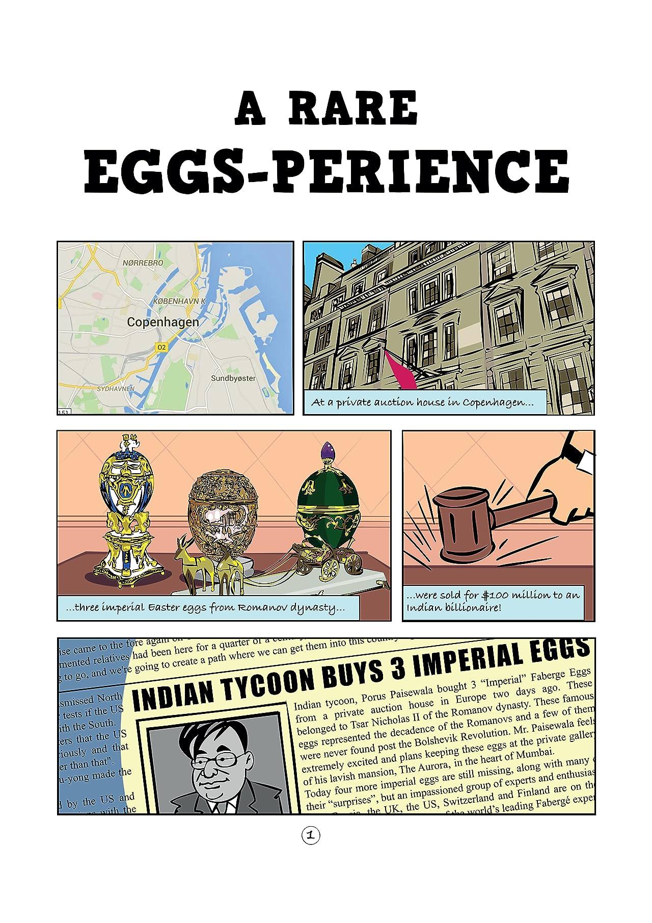 A Rare Eggs-perience #1