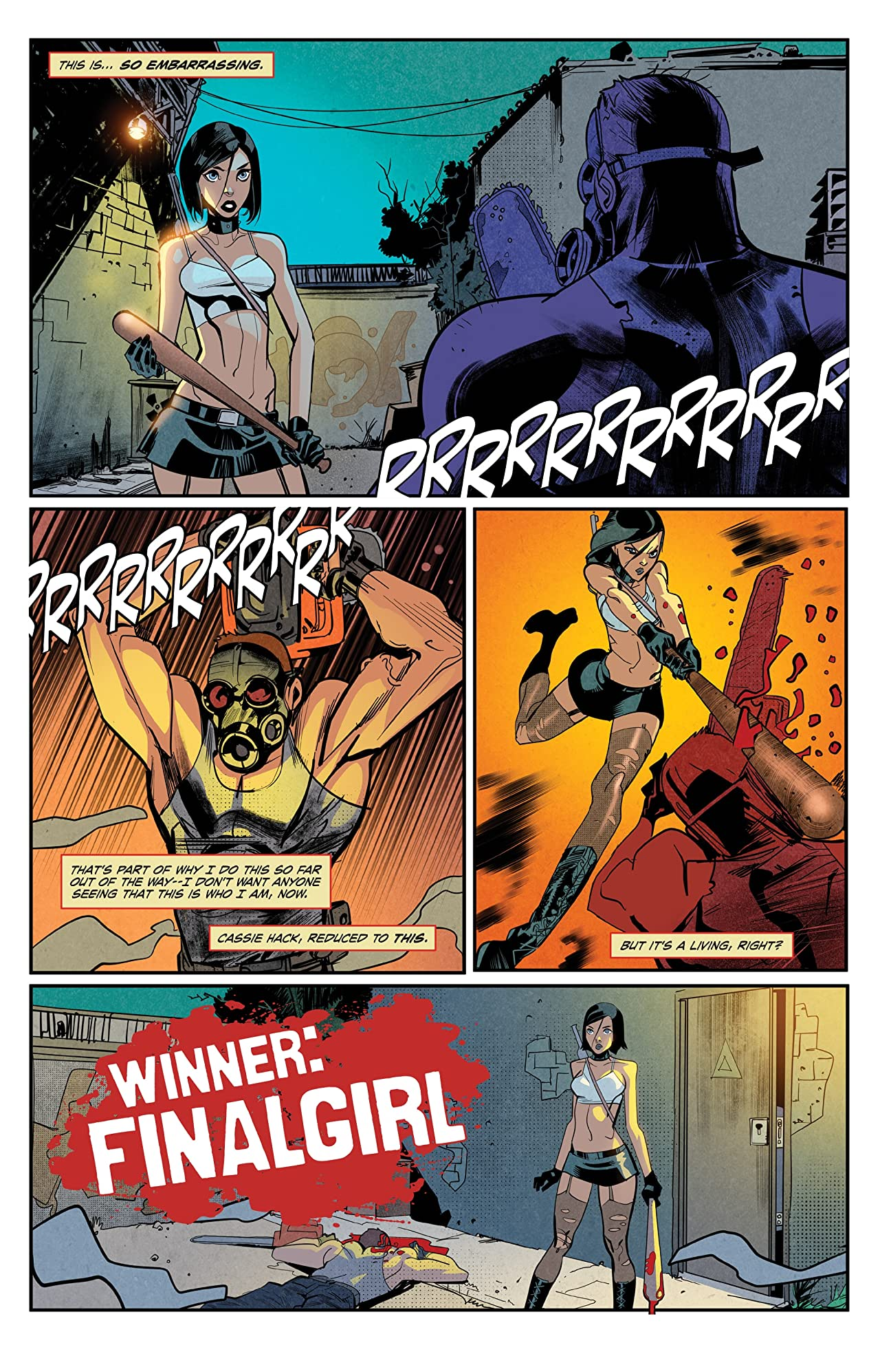 Hack/Slash: Resurrection #1