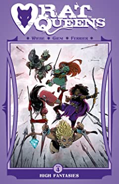 Rat Queens Vol. 4: High Fantasies