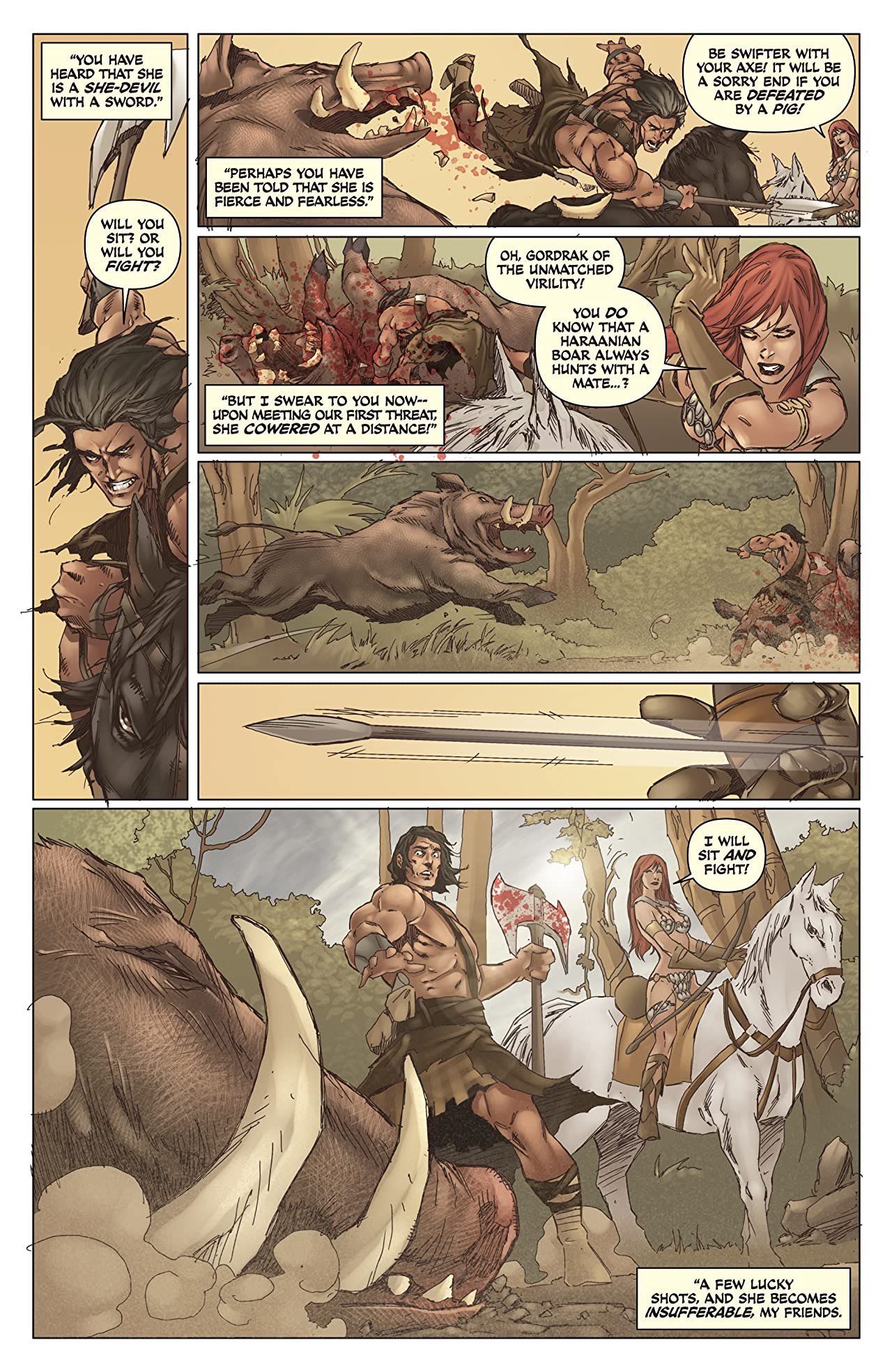 Legends of Red Sonja #2 (of 5): Digital Exclusive Edition