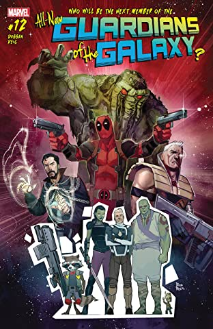 All-New Guardians Of The Galaxy (2017-) #12