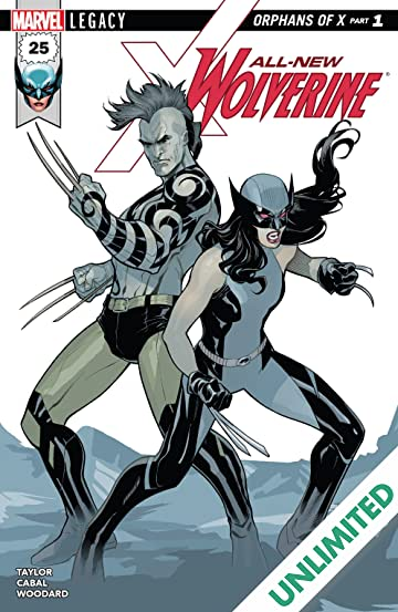 All-New Wolverine (2015-) #25