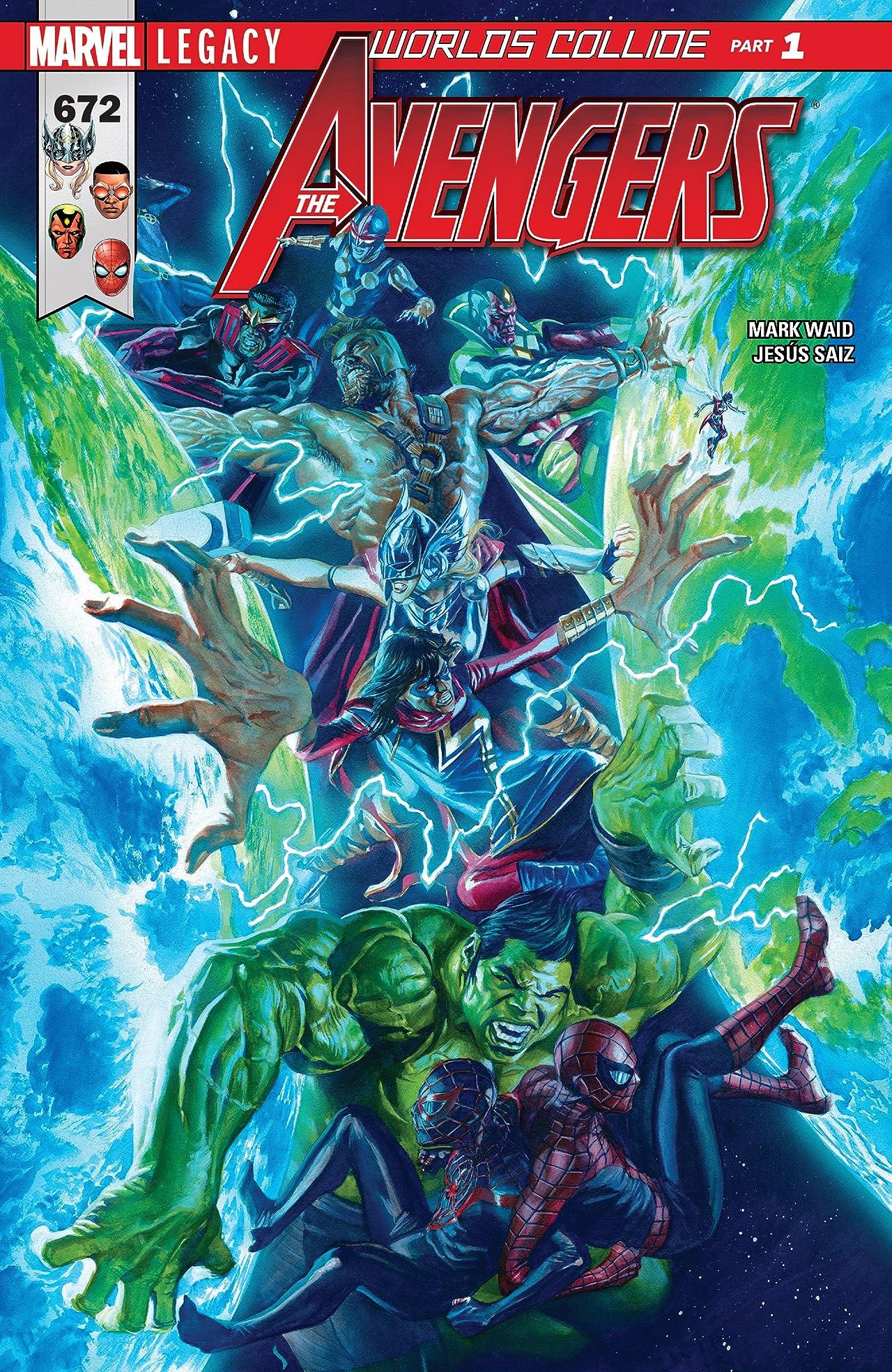 Avengers (2016-) #672