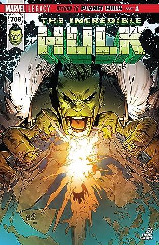 Incredible Hulk (2017-) #709