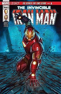 Invincible Iron Man (2016-) #593
