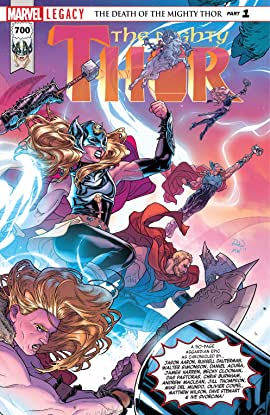 The Mighty Thor (2015-2018) #700