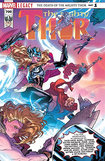 The Mighty Thor (2015-) No.700