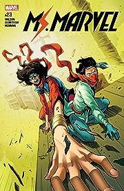 Ms. Marvel (2015-2019) #23