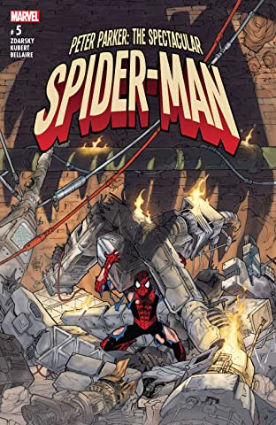 Peter Parker: The Spectacular Spider-Man (2017-2018) No.5