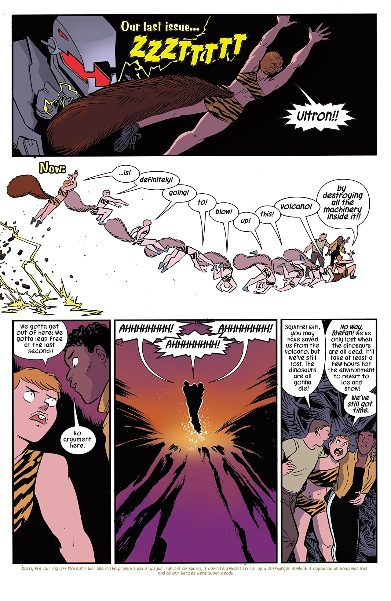 The Unbeatable Squirrel Girl (2015-) #25