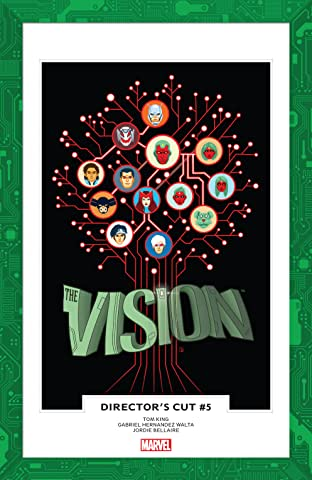 Vision: Director's Cut (2017) No.5 (sur 6)
