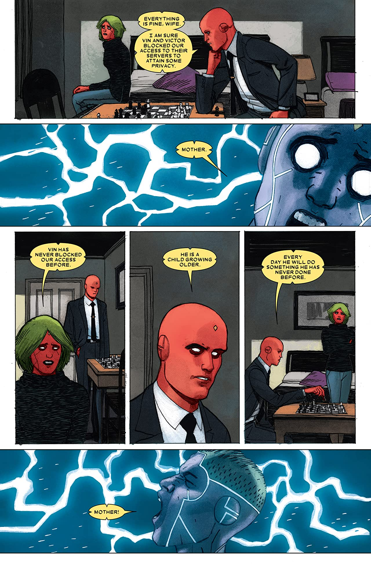 Vision: Director's Cut (2017) #5 (of 6)