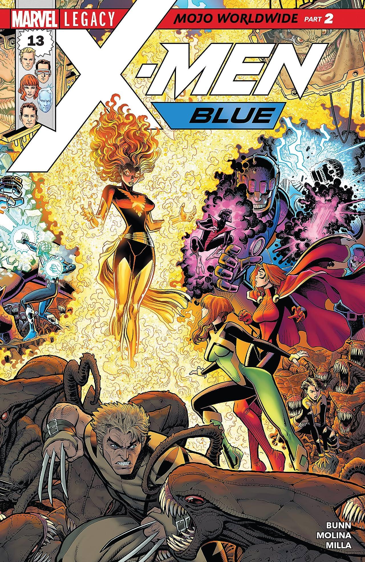 X-Men: Blue (2017-) #13