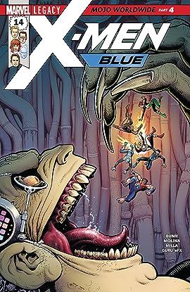 X-Men Blue (2017-2018) #14