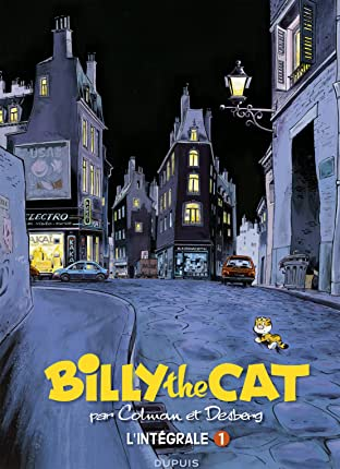 BILLY the CAT -  L'intégrale: Colman Desberg 1981- 1994
